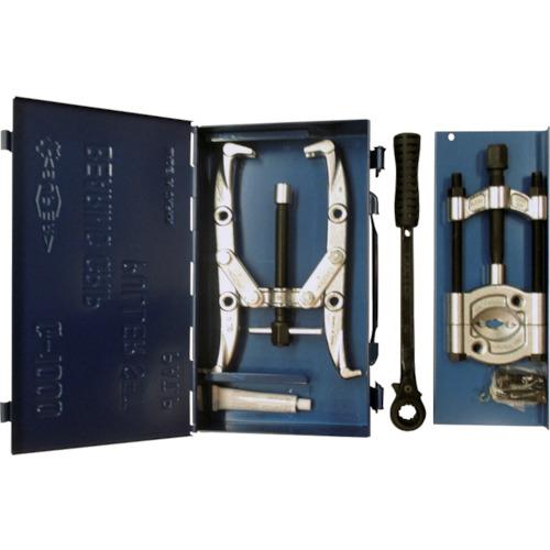 【メーカー在庫あり】 G1000 (株)スーパーツール スーパー ベアリング・グリッププーラーセット G-1000 JP