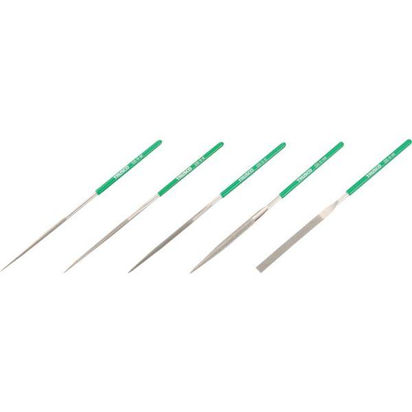 【メーカー在庫あり】 GS5SET トラスコ中山(株) TRUSCO ダイヤモンドヤスリ 精密用 5本組 セット GS-5-SET JP店
