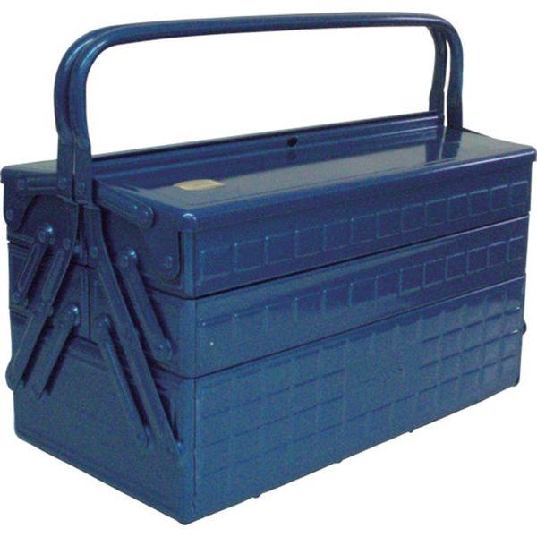 【メーカー在庫あり】 GT410B トラスコ中山(株) TRUSCO 3段式工具箱 412X220X343 ブルー GT-410-B JP店