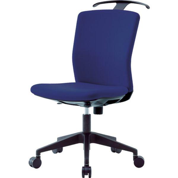 【メーカー在庫あり】 アイリスチトセ(株) アイリスチトセ ハンガー付回転椅子(フリーロッキング) ネイビー HG-X-CKR-46M0-F-N JP