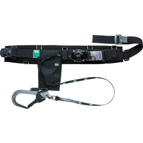 HJA01LK (株)基陽 KH 補助帯付 アリールロック式 タフアルミ 自在環 アロッキー 安全帯 黒 HJA01L-K JP店