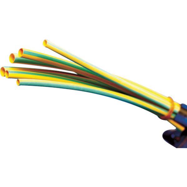 【メーカー在庫あり】 パンドウイットコーポレーション パンドウイット 熱収縮チューブ イエローグリーン HSTT12-48-Q45 JP