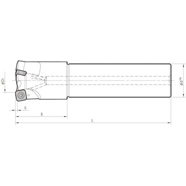 【メーカー在庫あり】 MFH40S32104T250 京セラ(株) 京セラ ミーリング用ホルダ MFH40-S32-10-4T-250 JP店