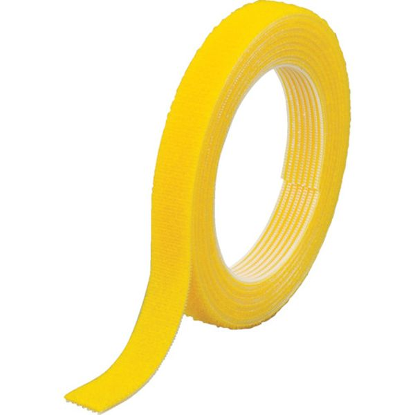 【メーカー在庫あり】 トラスコ中山(株) TRUSCO マジックバンド結束テープ 両面 幅40mmX長さ30m 黄 MKT-40W-Y JP