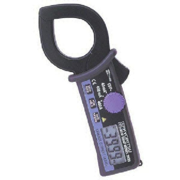 【メーカー在庫あり】 共立電気計器(株) KYORITSU 漏れ電流・負荷電流測定用クランプメータ MODEL2433 JP