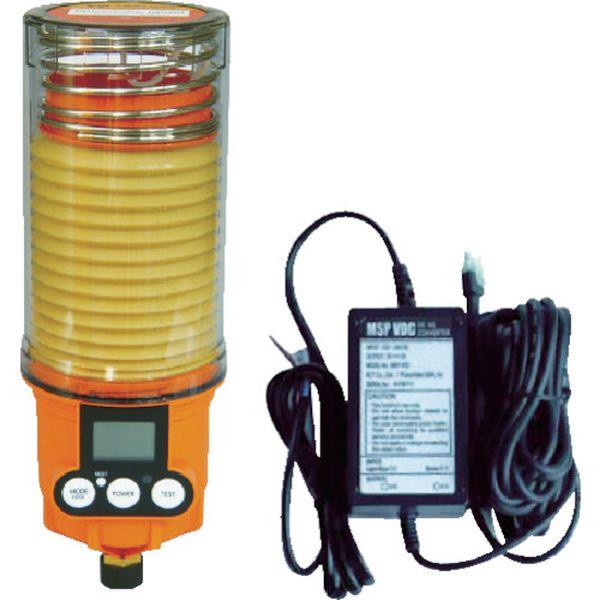 【メーカー在庫あり】 ザーレン・コーポレーション(株) パルサールブ M 500cc DC外部電源型モーター式自動給油機(グリス空) MSP500/MAIN/VDC JP