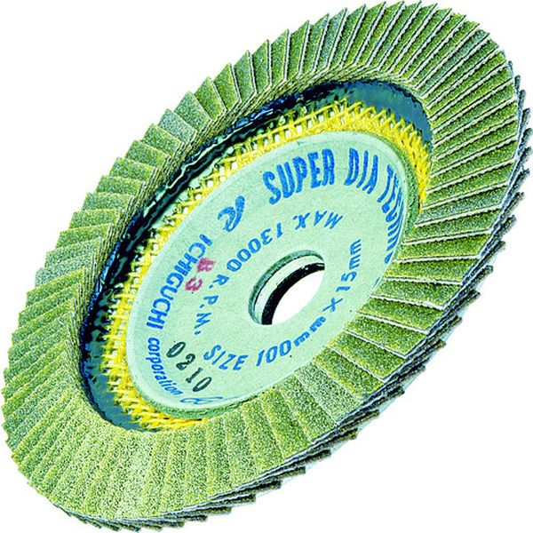 【メーカー在庫あり】 (株)イチグチ AC スーパーダイヤテクノディスク 100X15 #100 SDTD10015-100 JP