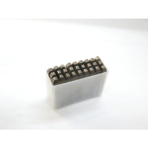 【メーカー在庫あり】 SKC25 トラスコ中山(株) TRUSCO 逆英字刻印セット 2.5mm SKC-25 JP店