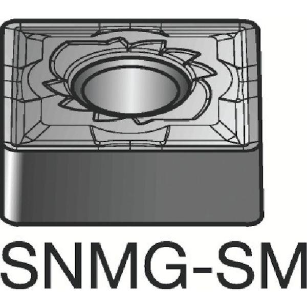 【メーカー在庫あり】 サンドビック(株) サンドビック T-Max P 旋削用ネガ・チップ 10個入り SNMG 15 06 16-SM JP