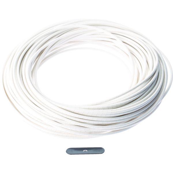【メーカー在庫あり】 パンドウイットコーポレーション パンドウイット スパイラルラッピング 難燃性ポリエチレン(UL94V-0) 白 T75FR-CY JP
