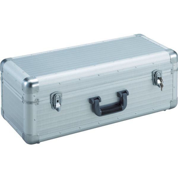 【メーカー在庫あり】 トラスコ中山(株) TRUSCO 大型アルミ工具箱 内寸640X260XH230 シルバー TAC-66H JP