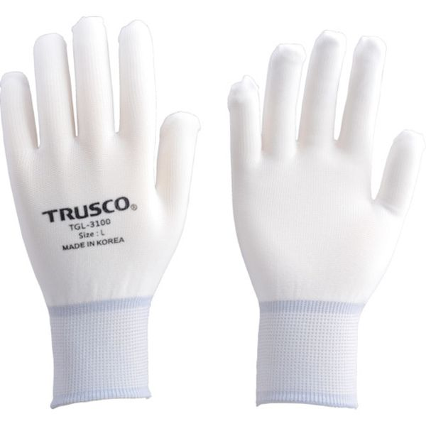 メーカー在庫あり トラスコ中山 株 TRUSCO ナイロンインナー手袋 10双入 TGL-3100-10P-M 卓越 本物 JP M