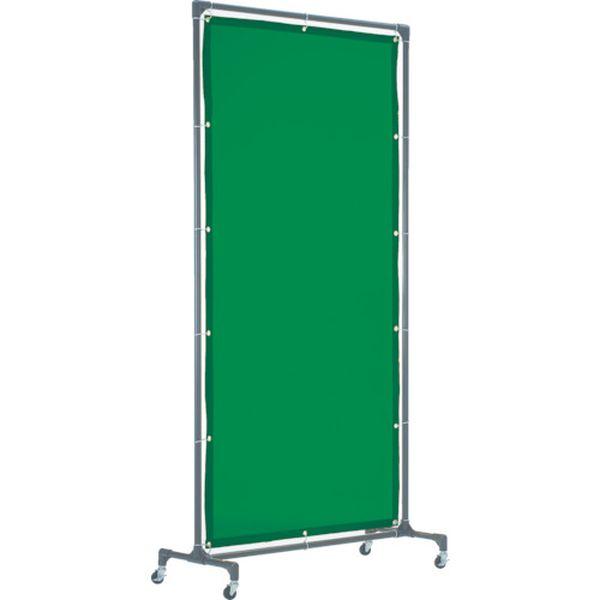 メーカー在庫あり トラスコ中山 株 レビューを書けば送料当店負担 TRUSCO 溶接遮光フェンス 未使用 JP YFB-DG 深緑 1020型単体