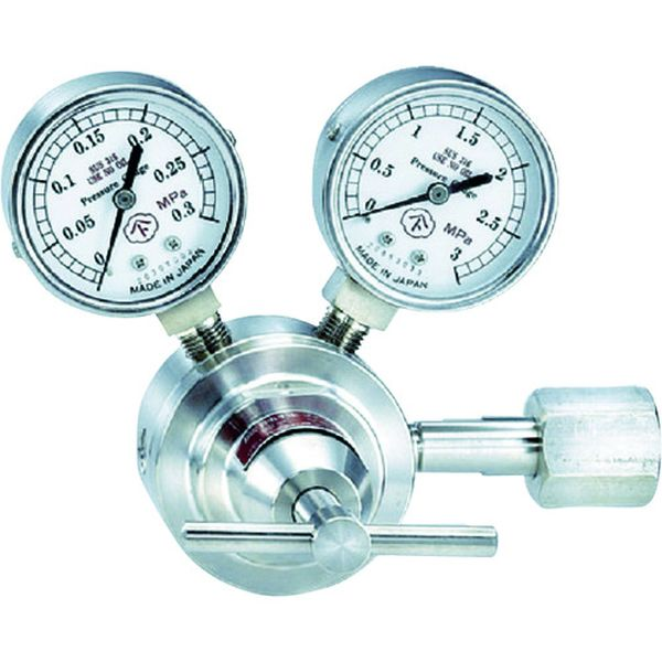 【メーカー在庫あり】 大和製衡(株) ヤマト 腐食性ガス用圧力調整器 YS-1 YS-1NH3 JP