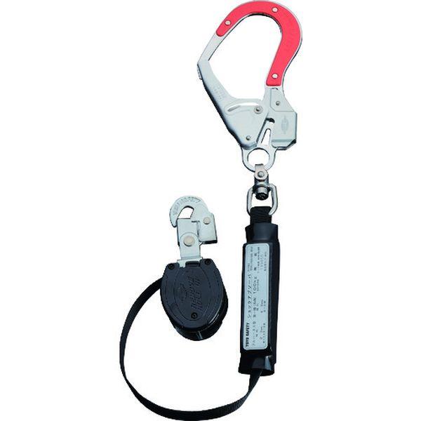 【メーカー在庫あり】 455RTRR (株)トーヨーセフティー トーヨーセフティ フルハーネス型取替用 巻取式ランヤード(タイプ1)赤色蛍光樹脂付きフック 455R-TR-R JP店