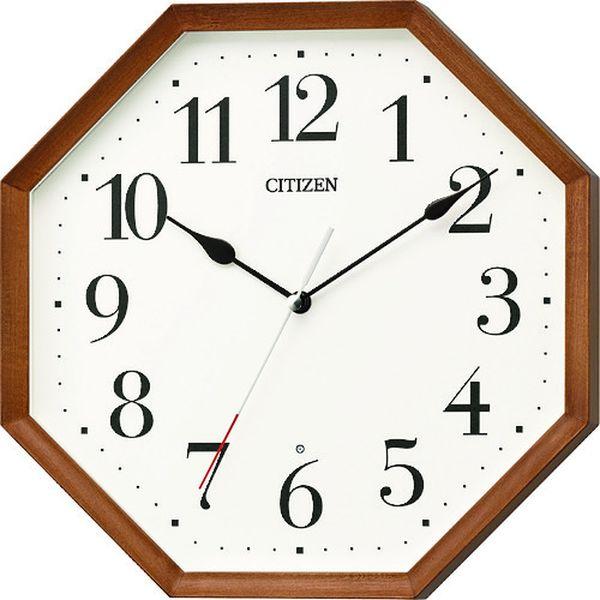 【メーカー在庫あり】 8MY531006 リズム時計工業(株) シチズン 木枠電波掛時計 8MY531-006 JP店
