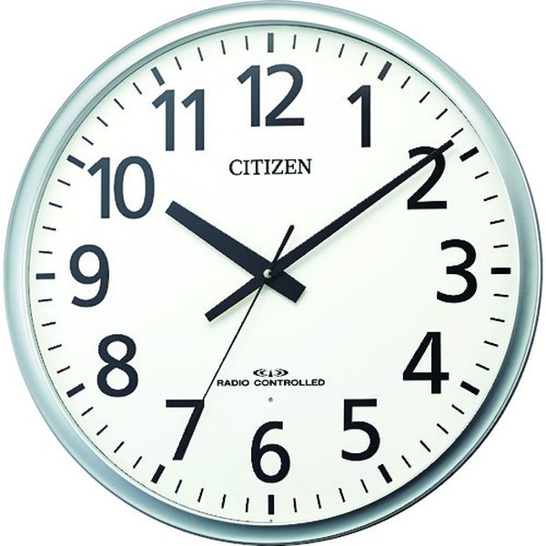 【メーカー在庫あり】 8MY547019 リズム時計工業(株) シチズン シチズン 大型電波掛時計 8MY547-019 JP店