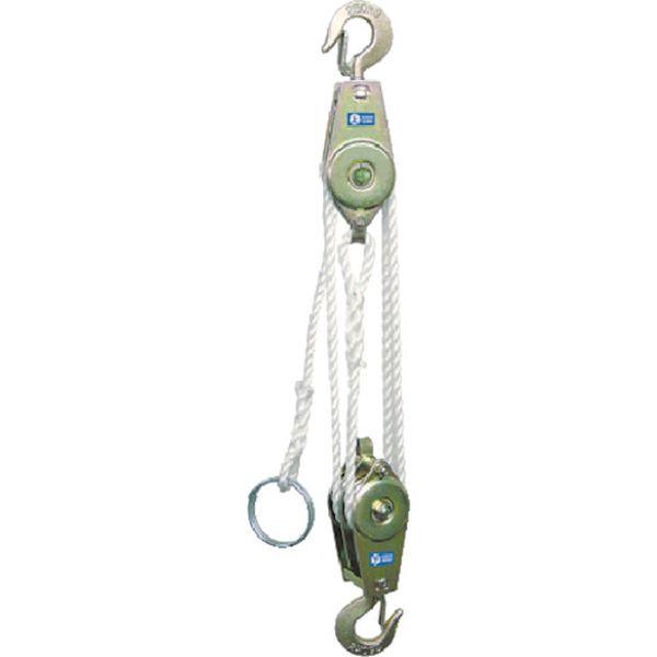 【メーカー在庫あり】 (株)スリーエッチ HHH ロープホイスト 250kg 揚程3m RH250 JP店