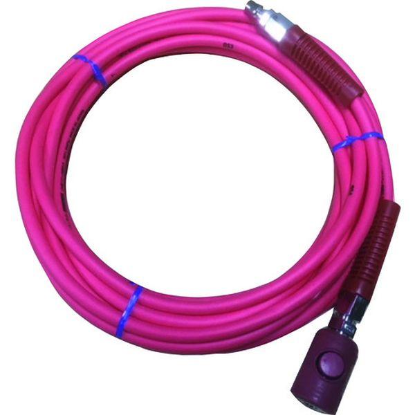 【メーカー在庫あり】 TAC8530BT (有)ヤマトエンジニアリング ヤマト PVCソフトブレードエアホース(ボタン式カップリング付) TAC85-30BT JP店