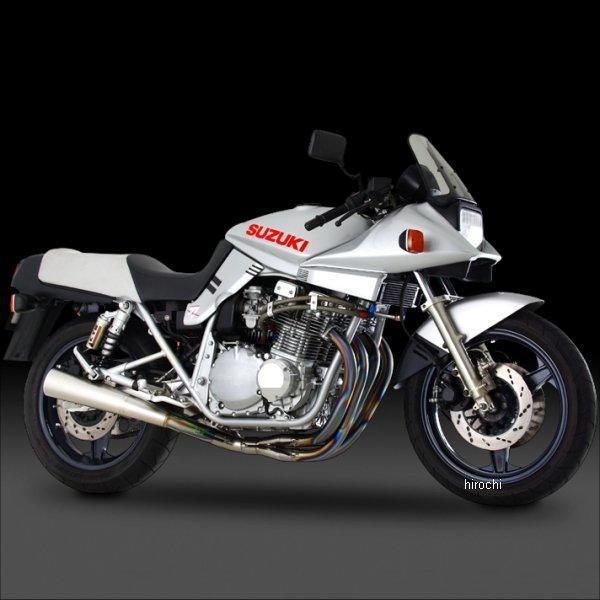 ヨシムラ チタン手曲DRAGサイクロン2本出し フルエキゾースト 全年式 GSX1100S (TT) 110-191-8380 JP店