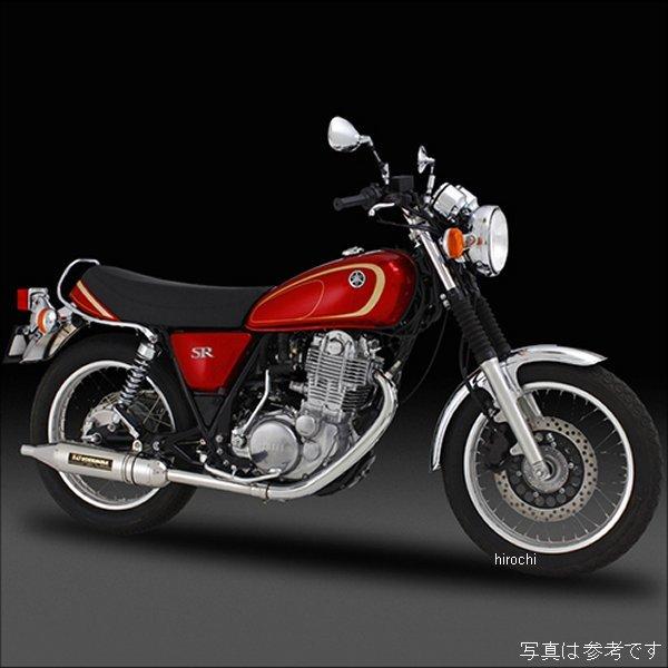 ヨシムラ パトリオット サイクロン スリップオンマフラー10年以降 SR400 FI 、03年-08年 SR400 キャブ車 (ST) 110-357-5T80 JP店