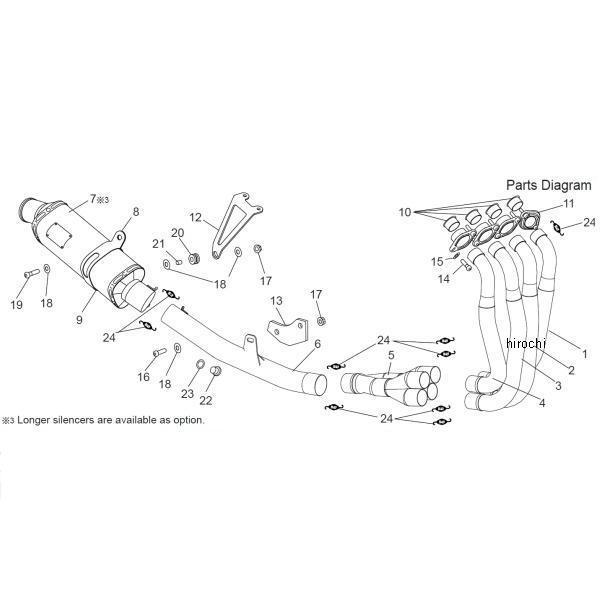 ヨシムラ レーシングチタン TRI-OVALサイクロン 4-2-1 350mm フルエキゾースト 11年以降 GSX-R600 (TTB) 150-571A8380B JP店