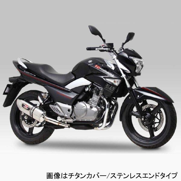 ヨシムラ R-77Jサイクロン EXPORT SPEC スリップオンマフラー 12年以降 GSR250、GSR250S (SSS) 110-120-5V50 JP店