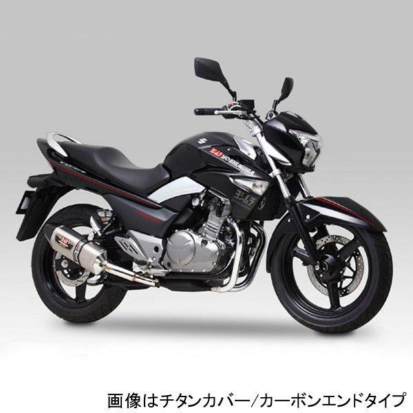 ヨシムラ R-77Jサイクロン EXPORT SPEC スリップオンマフラー 12年以降 GSR250、GSR250S (SMC) 110-120-5W20 JP店