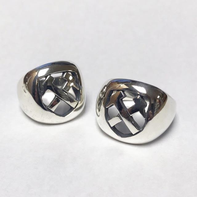 ネバートラストHammers Silver Ring