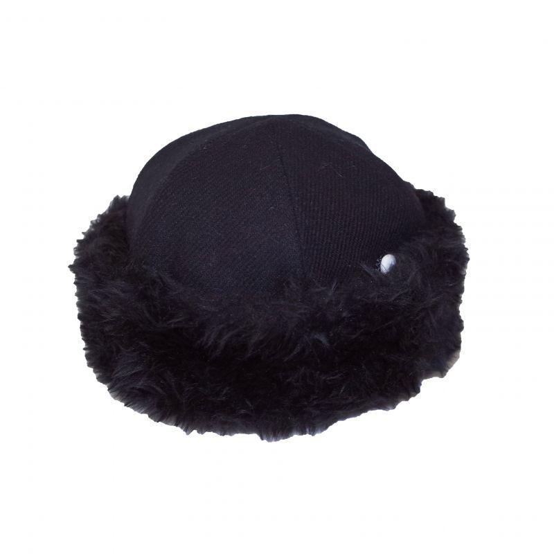 メーカー再生品 新作販売 オリジナルJOHNWOOLEN HAT BLACK