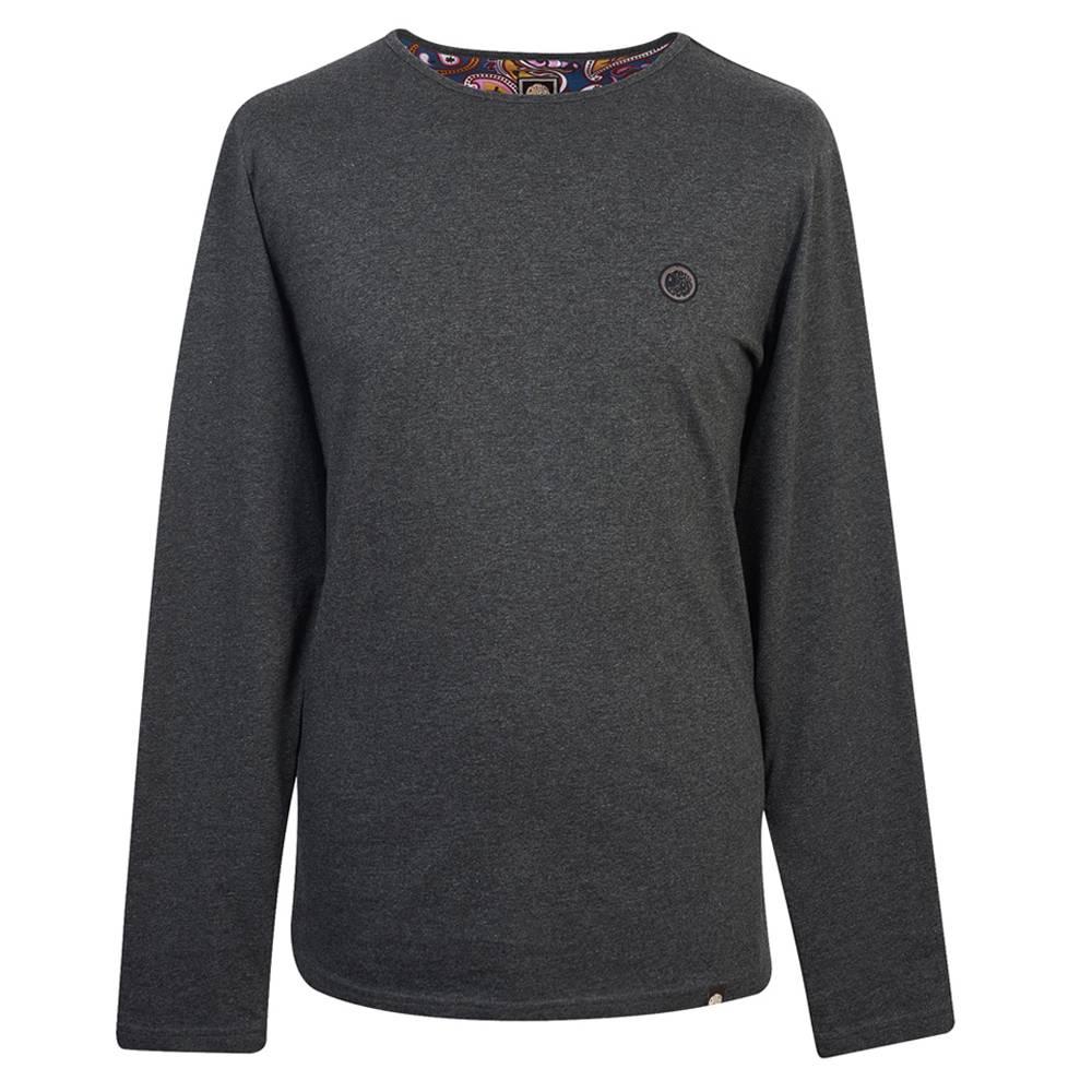 販売 プリティーグリーンLS MITCHELクルーネック Tシャツ SEAL限定商品