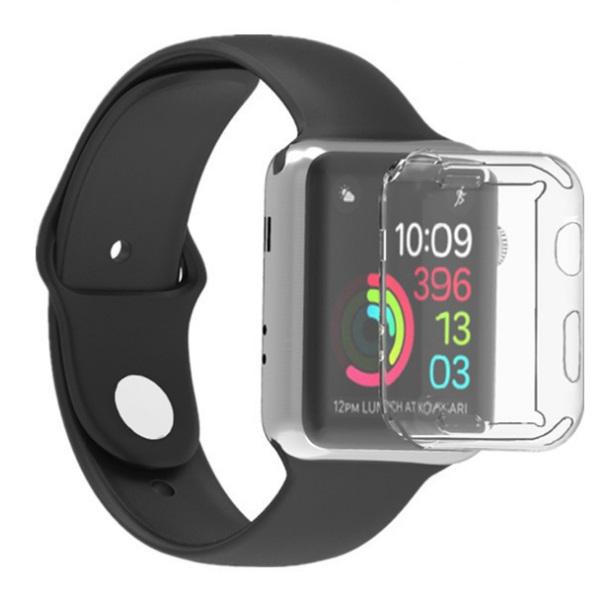 保護カバー Apple Watch Series 2 3 クリアケース 《38mm》 保護ケース TPU 透明ケース[定形外郵便、送料無料、代引不可]