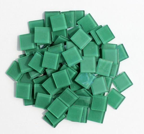 ガラスクラフトに最適 ガラスタイル25角 最新号掲載アイテム 大幅にプライスダウン 750g グリーン