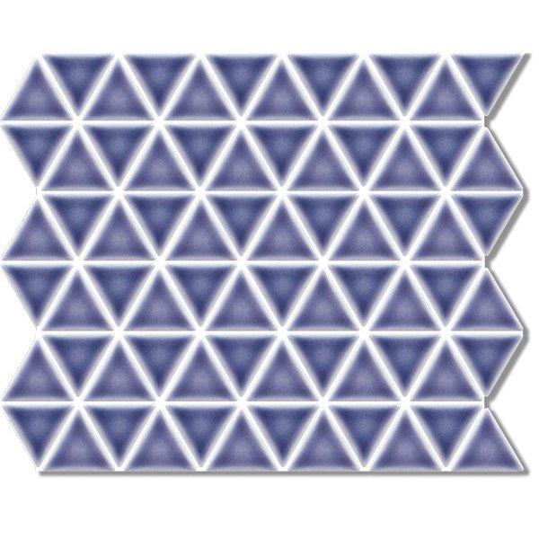 空間にリズム感が生まれる新しいカタチ トライアングル タイル 三角形 DIY 新作製品 世界最高品質人気 クラフト 内外装 紫色 個性的なタイル パープル タイルトレー かわいい おしゃれ TRI-RG-10 雑貨にも最適 ☆送料無料☆ 当日発送可能