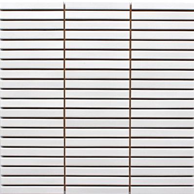 多種多様な空間を彩るシリーズ ボーダー タイル 白色 ホワイト マット 内装壁 DIY 新作製品、世界最高品質人気! クラフト 建築資材 IP-101V カウンター 浴室 キッチン 着後レビューで 送料無料 プリセラIPボーダーV 白マット 洗面所