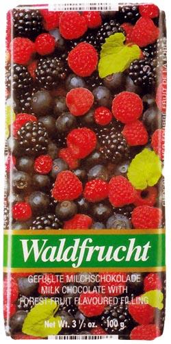 ワインリッヒ チョコレート フォレストフルーツ 100g