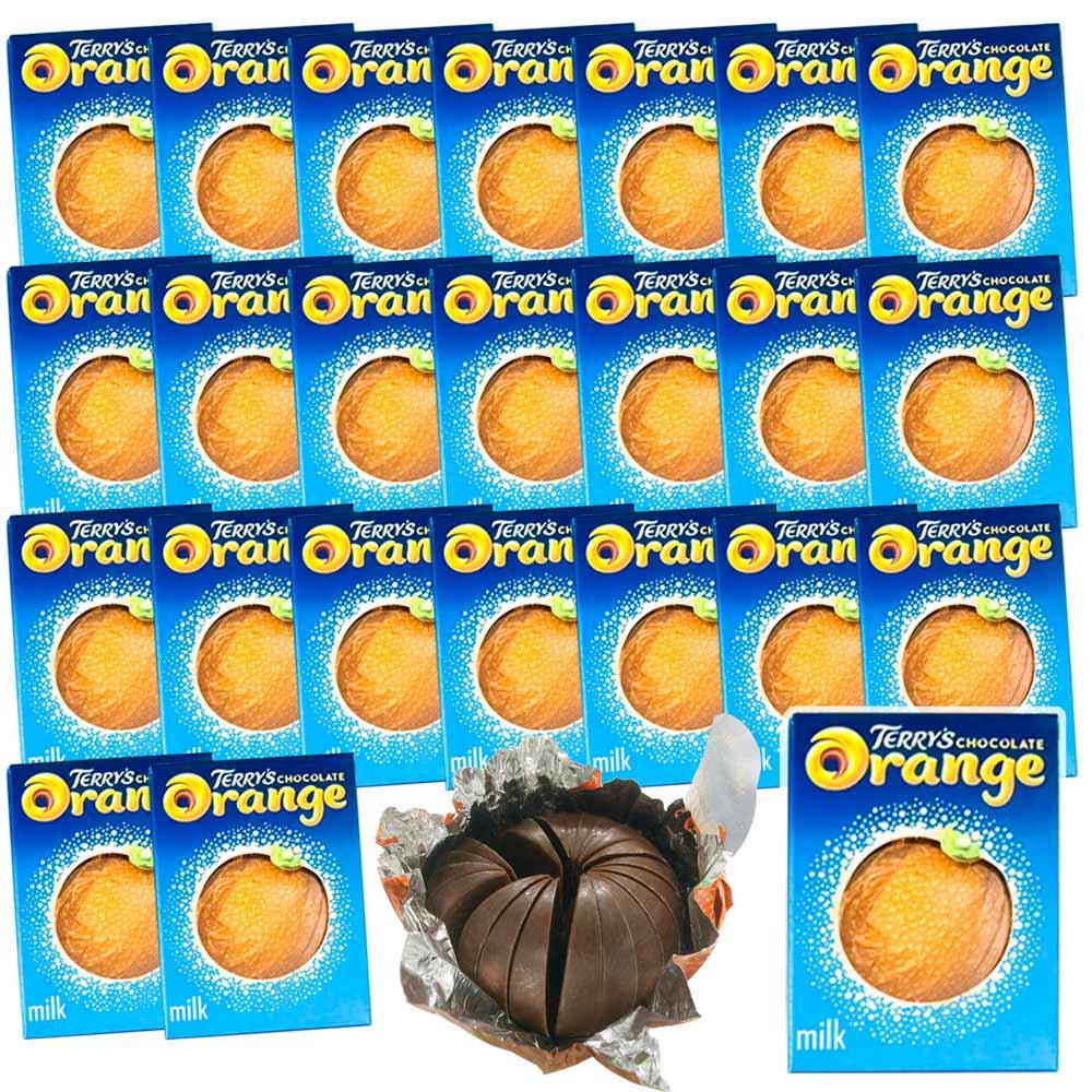送料無料 TERRY'Sテリーズ チョコレート オレンジミルク 157g(24箱セット)