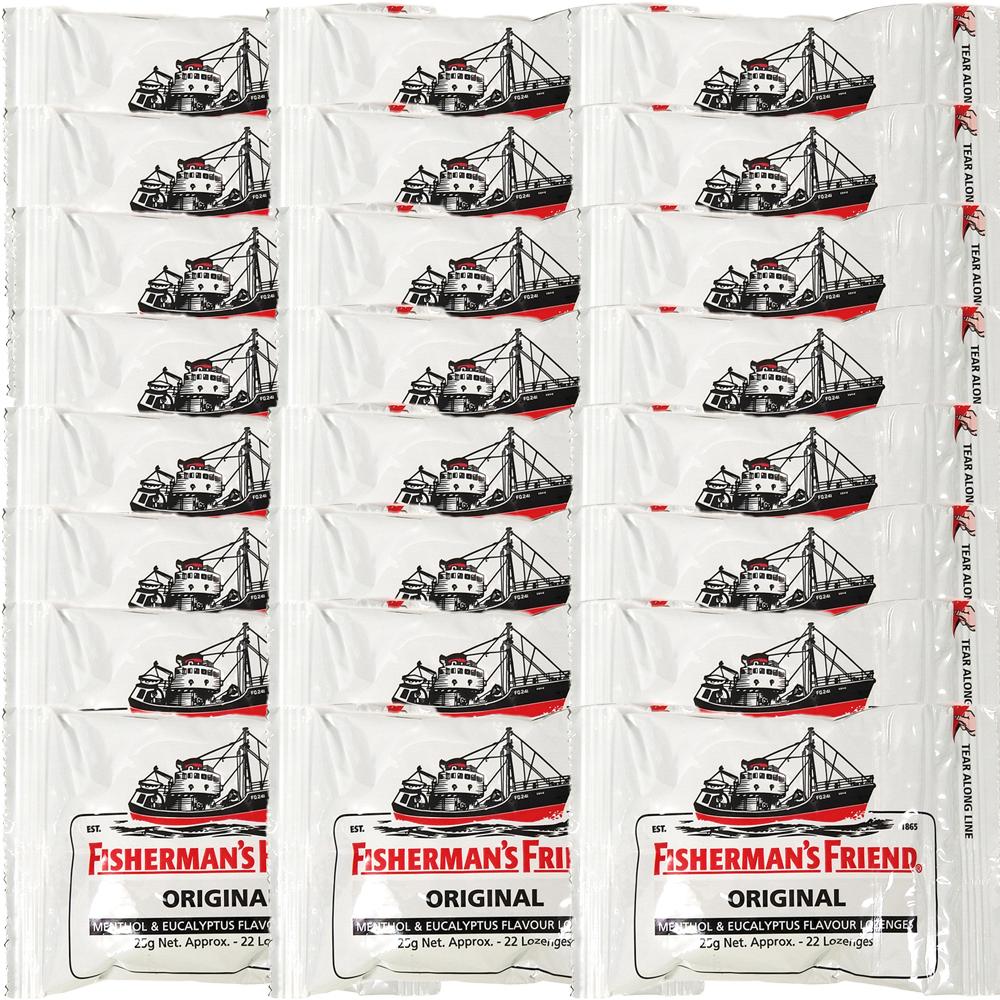 史上最強の強烈メントールキャンディ フィッシャーマンズフレンド エクストラストロング ミント 白 引出物 24個入 送料無料 新作製品、世界最高品質人気! 酔い止め 眠気覚まし ミントタブレット イギリス