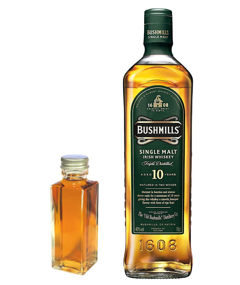 【量り売り】ブッシュミルズ シングルモルト10年 40度 100ml ウイスキー お試し