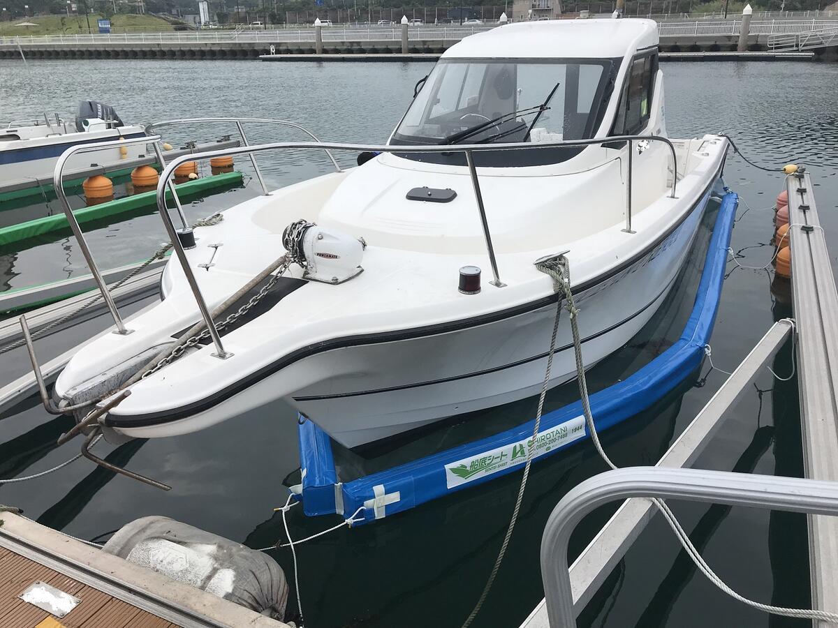 ボートオーナーの悩みを解決する限定モデル【船底シートLLタイプ】※タイプは船外機仕様のみ※フロートカラーはブルーのみ