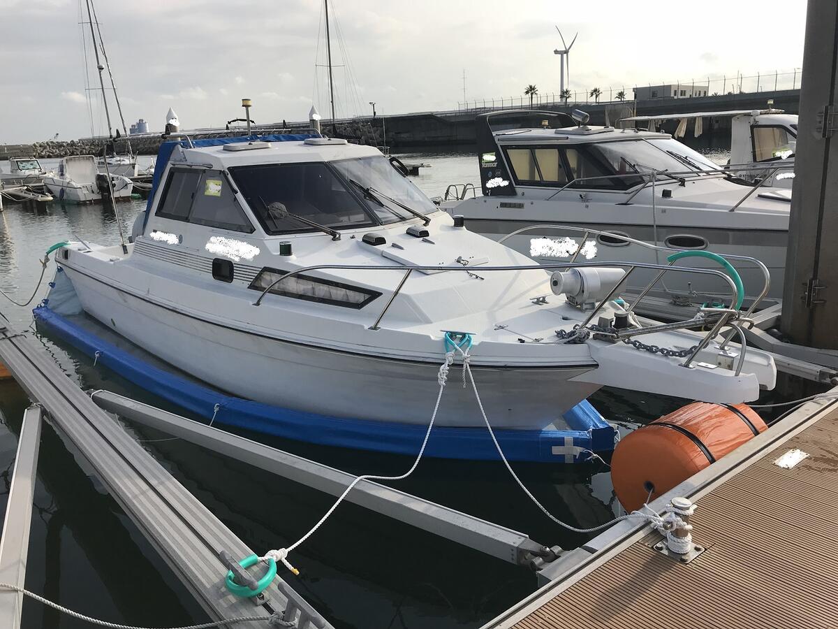 ボートオーナーの悩みを解決する市場限定モデル【船底シートLタイプ】※タイプは船外機仕様のみ※フロートカラーはブルーのみ