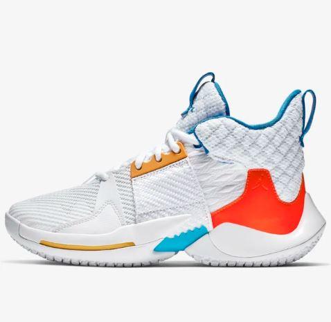 NIKE ナイキ Air Jordan Why Not Zero.2 (GS) ジョーダン ワイ ノット ゼロ 2 zer0.2 バスケットボール シューズ 子供 キッズ 取り寄せ商品 az