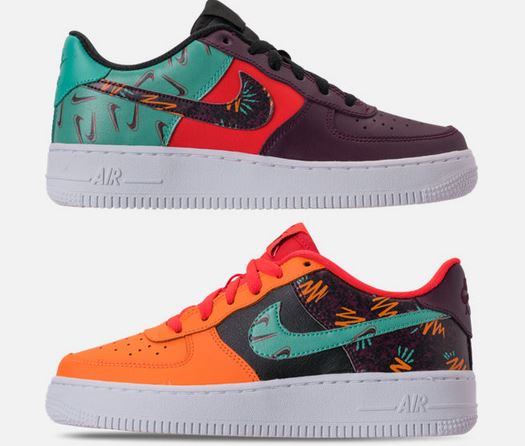 NIKE ナイキ Air Force 1 LV8 Grade School エア フォース 1 GS スニーカー キッズ  取り寄せ商品