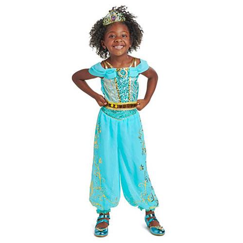Disney Princes Jasmine Costume ディズニープリンセス ジャスミン コスチューム アラジン キッズ ガール 取り寄せ商品