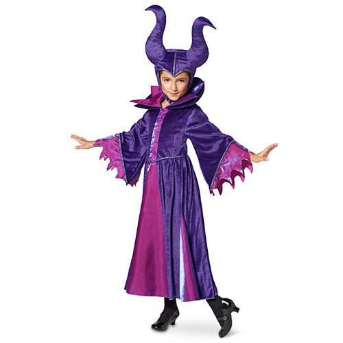 Disney Villain Maleficent Costume Sleeping Beauty ディズニーヴィラン マレフィセント コスチューム スリーピングビューティー 眠れる森の美女 キッズ ガール 取り寄せ商品