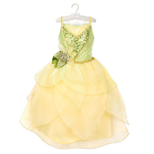 Disney Princes Tiana 10th Anniversary Costume The Princess and the Frog ディズニープリンセス ティアナ コスチューム プリンセスと魔法のキス キッズ ガール 取り寄せ商品