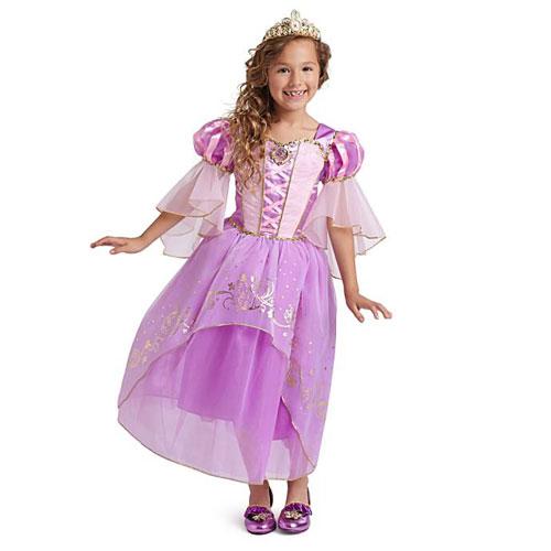 Disney Princes Rapunzel Costume Tangled ディズニープリンセス ラプンツェル コスチューム 塔の上のラプンツェル キッズ ガール 取り寄せ商品