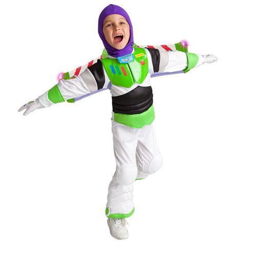Disney Buzz Lightyear Light-up Costume Toy Story ディズニー バズライトイヤー ライトアップ コスチューム トイ・ストーリー キッズ ボーイ 取り寄せ商品