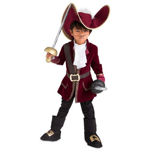 Disney Captain Hook Costume Peter Pan ディズニー キャプテン フック コスチューム ピーターパン フック船長 キッズ ボーイ 取り寄せ商品