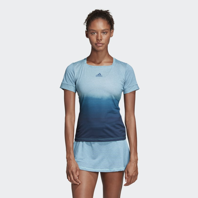 Adidas アディダス Women's Tennis Parley Tee Tshirt ウーマン テニス パーレイ Tシャツ 取り寄せ商品